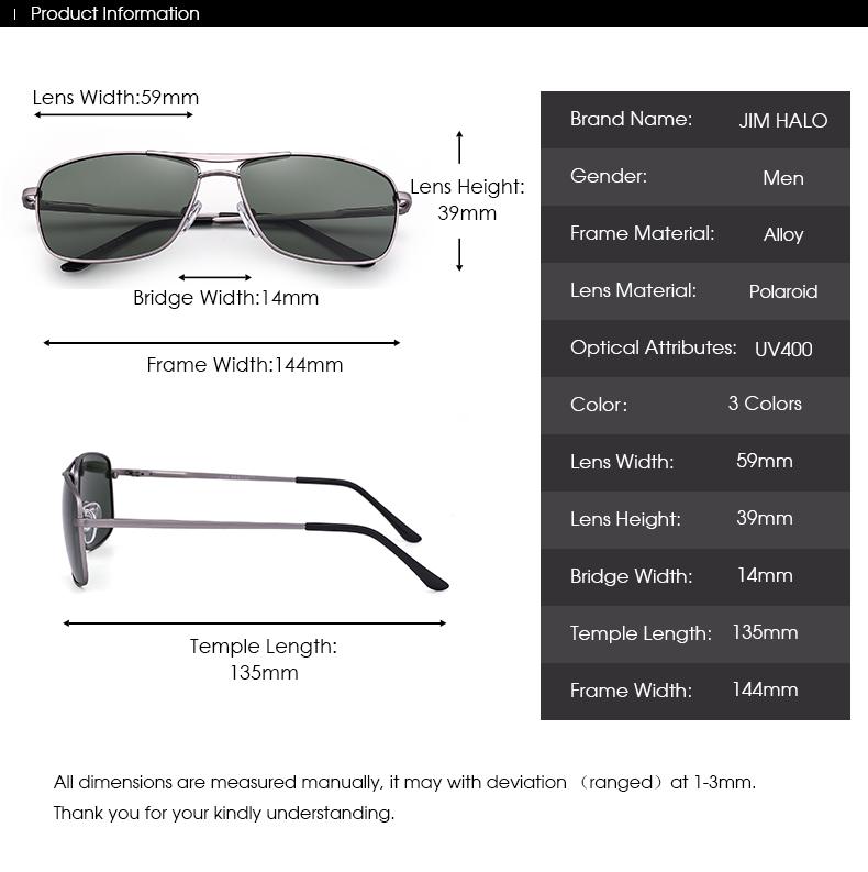Arvin Green/Gray/Brown Rectangular Sunglasses