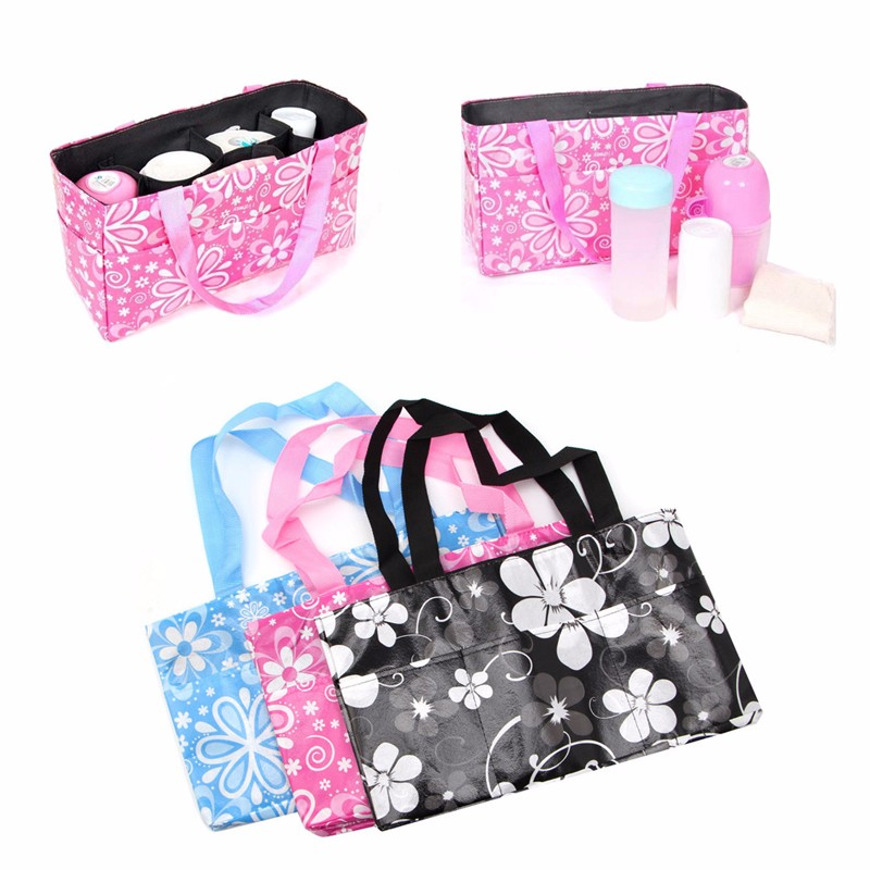 New Beautiful 1Pc Mother Organizer Baby Diaper Bottle Bag Travel Mummy Nappy Toy package Storage