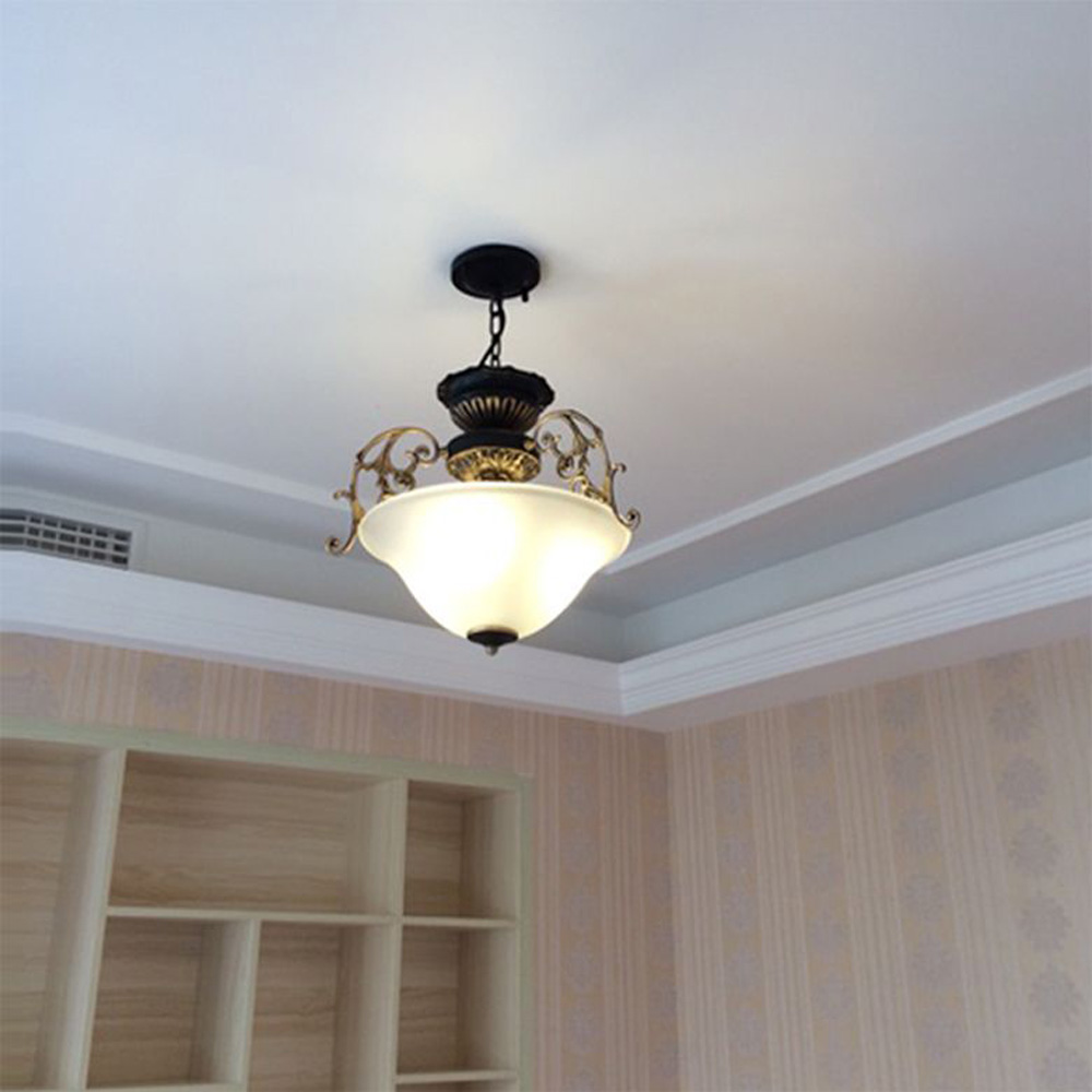 kitchen glass pendant lighting. European Kitchen Glass Chain Chandelier Lighting Fixtures Dining Room Chinese Pendant Lamp Balcony Corridor Hanging Lights-in Lights From R