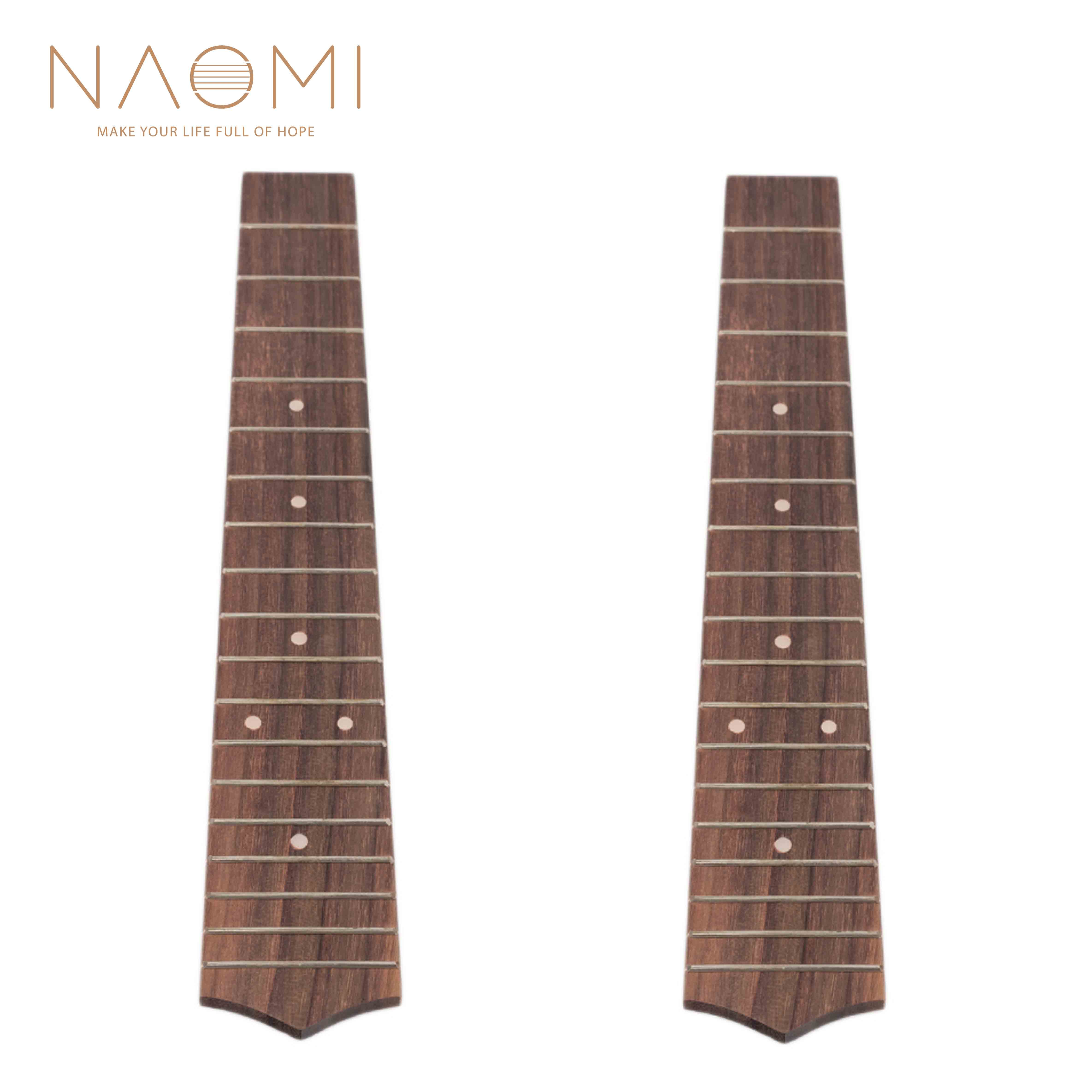 Stringed Instruments Sports & Entertainment Naomi 2 Pcs Ueulele Fretboard 26 Inch Tenor Ukulele Hawaii Guitar Wood Fretboard Fingerboard 18 Frets Guitar Parts Accessories Strong Packing