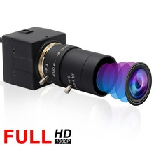 H.264 CCTV Sony IMX322 5-50 мм объектив с переменным фокусным расстоянием мини камера Веб-камера USB 1080 P HD Android Linux, Windows для ПК видеоконференции