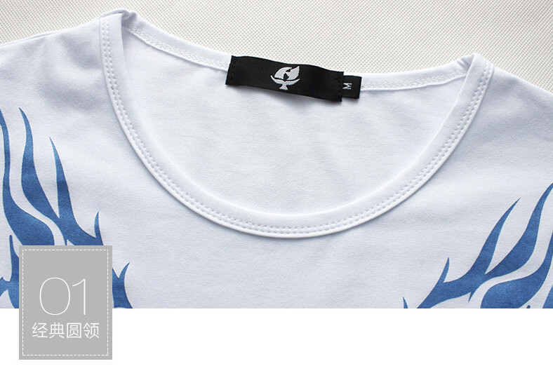2017 Autumn new high-end men's brand t-shirt fashion Slim Dragon printing atmosphere t shirt Plus size long-sleeved t shirt men 8