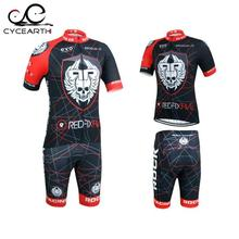 2016 Summer Quick-Dry Racing Bike Cycling Clothing Cycle Cycling Jerseys/Breathable MTB Bicycle Clothes Skeleton Cycling Jersey