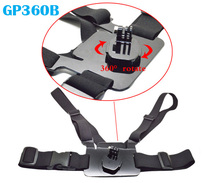 Free Shipping!!B Series New 360 Degree Rotative Chest Mount for GoPro GITUP /SJCAM/XiaoMi Yi GP360B