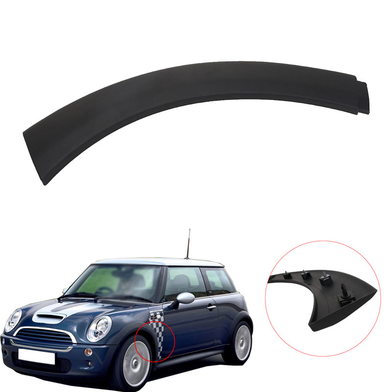 Car Styling Front Left Wheel Arch Fender Flares Cover Trim For Mini