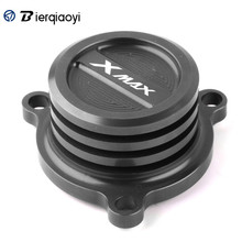 Oil Filter Cap Cover For Yamaha X-MAX 125 250 X MAX 300 XMAX400 XMAX300 2017-2018 Engine Fuel Filter Radiator Cap Cover Plug taishan ts250 254 300 304 tractor parts set of fuel and oil filter for engine fd295t or fd2100t