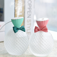 Mini USB Air Humidifier 310 Ml Mist Maker Crystal Ultrasonic Mini Charging Aroma Essential Oil Diffuser