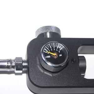 Image 5 - Yeni Paintball hava tabancası Airsoft PCP Havalı Tüfek Dalış Tüplü Yoke Dolum Istasyonu Ile 5000PSI Göstergesi Dolum HPA Hava Tankları
