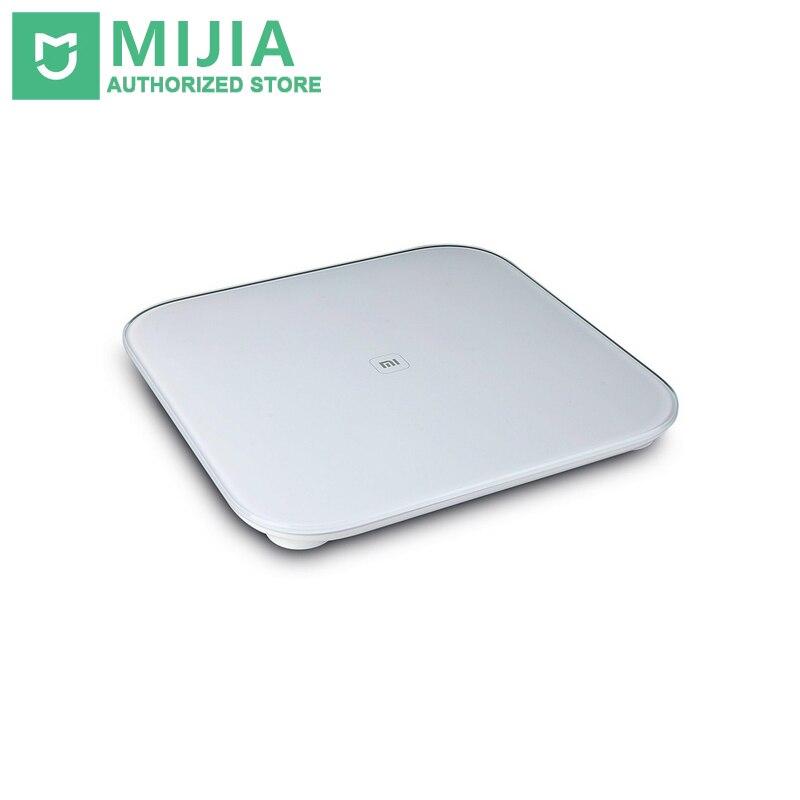 Originaal Xiaomi skaala Mi nutikas tervise kaalumine Mi skaala elektrooniline Bluetooth4.0 kaalus digitaalne skaala LED displa Android IOS