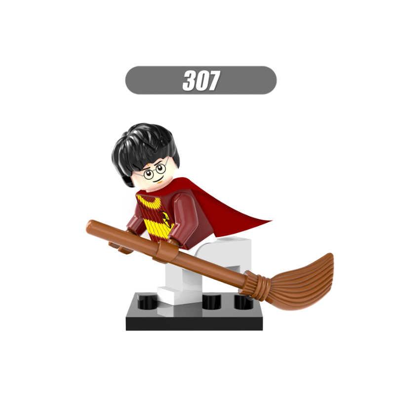 Singola Vendita Super Heroes Harry Potter Hermione Jean Granger Ron Weasley Lord Voldemort Blocchi di Costruzione Giocattoli per i bambini X0121