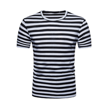 HipHop Short Sleeve T-shirt Streetwear Men T Shirt Summer Tops Tees Stripe T-Shirts Mens O Neck Tshirt Fashion tee shirt homme бритва русская техника агидель 22a