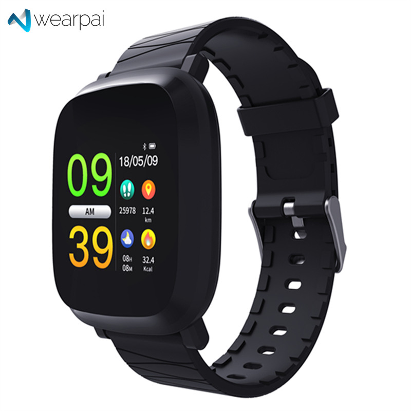 Latest Collection Of Wearpai Bluetooth Smart Watch Men M30 With Color Screen Digital Watch Sport Fitness Tracker Heart Rate Monitor For Ios Iphone Watches