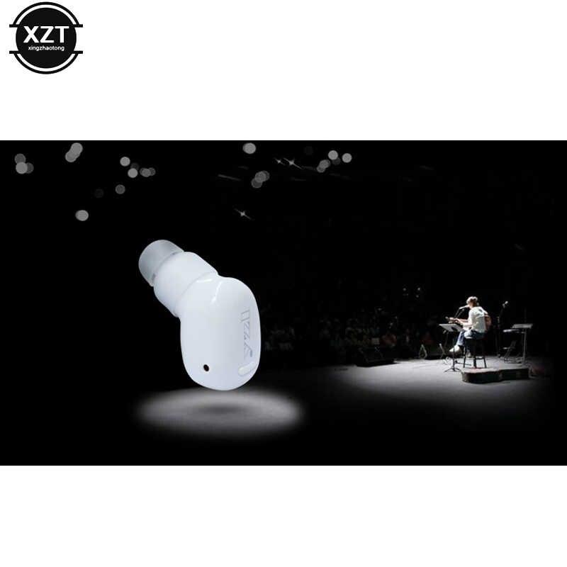 Наушники S570 супер мини Беспроводной музыка Bluetooth стерео гарнитура Спорт басов вкладыши гарнитура с микрофоном для iPhone