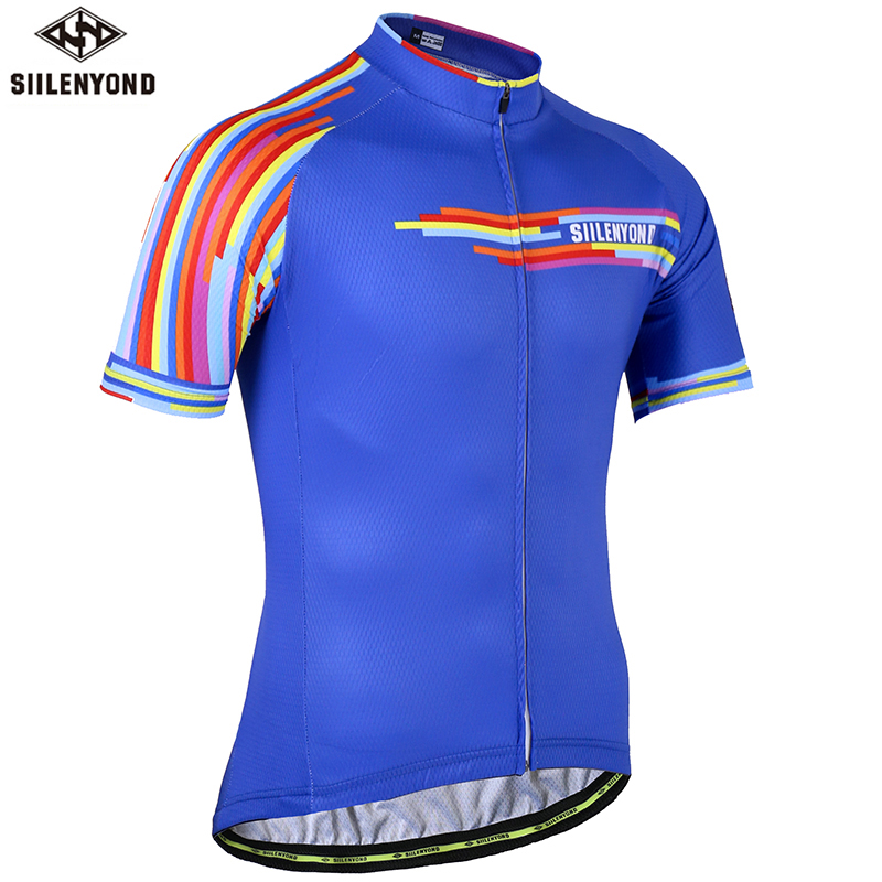 Quick Dry Pro Cycling Jersey Summer Breathable Bicycle Clothing Cycling Clothes MTB Bike Wear Jersey Ciclismo Maillot(China)