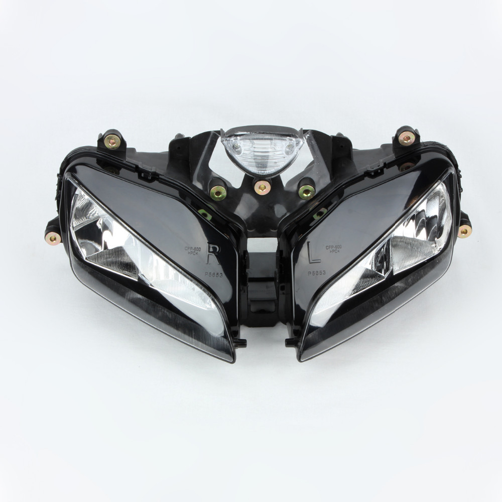 Headlight Head Light Lamp Assembly For Honda CBR600RR CBR 600 RR 600RR 2003 2004 2005 2006 03 04 05 06 free shipping motorcycle parts no cut frame slider for honda 2003 2004 2005 2006 cbr 600rr cbr600rr rr black