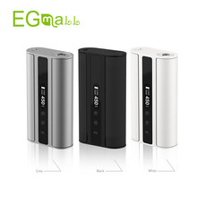 Electronic Cigarette iSmoka Original Eleaf iStick TC 100w Mod with Black White Grey Color 18650 Battery