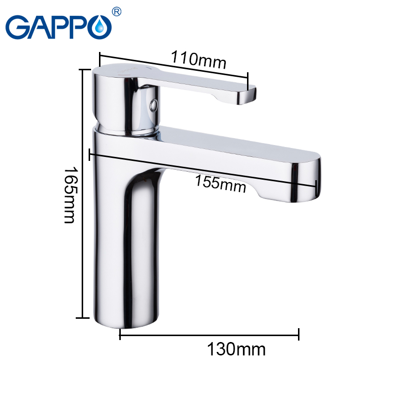 GAPPO Basin Faucets deck mounted Chrome Plated water taps basin sink mixer faucet bathroom mixer Single Holder Single HoleGAPPO Basin Faucets deck mounted Chrome Plated water taps basin sink mixer faucet bathroom mixer Single Holder Single Hole