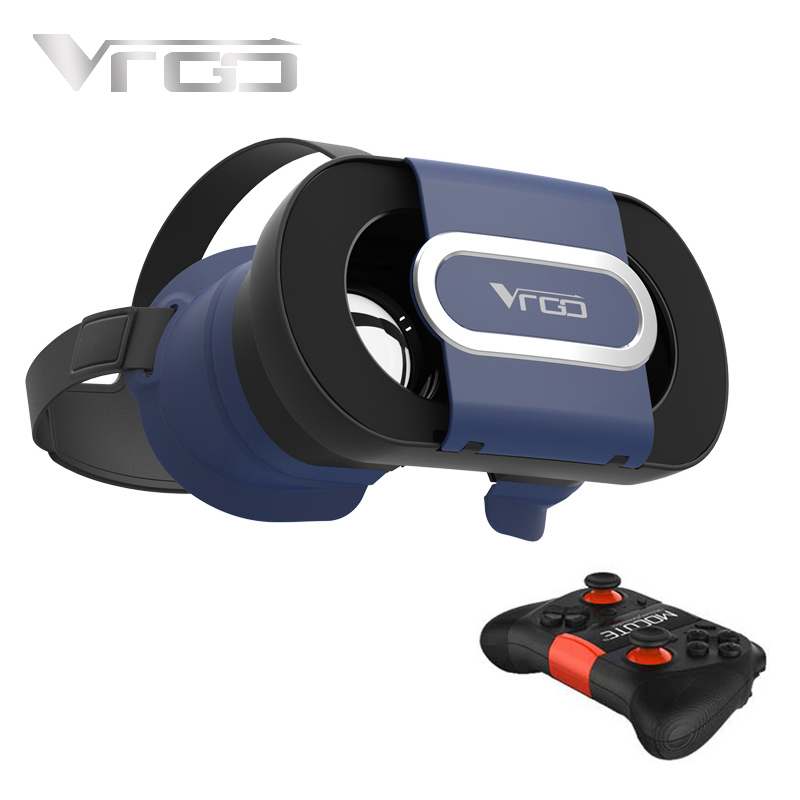 RITECH VRGO 3D VR Glasses Virtual Reality VR Glasses Helmet Compitable for 4 7 6 0