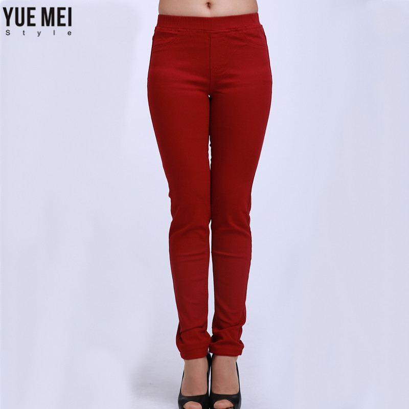 Yuemei style plus Size Pants Skinny Jeans for womens