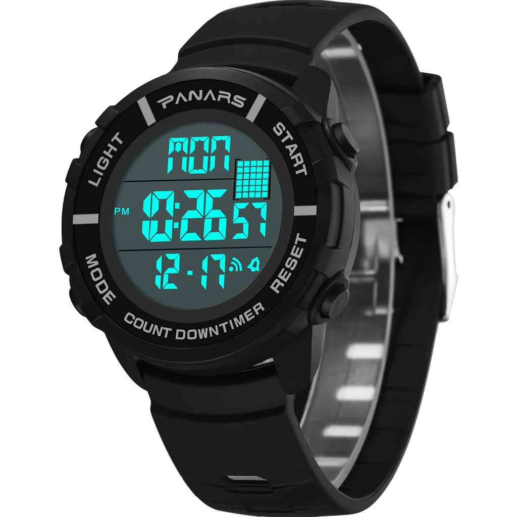Alarm Multi Function Sports Waterproof Luminous Outdoor Men's Electronic Watch