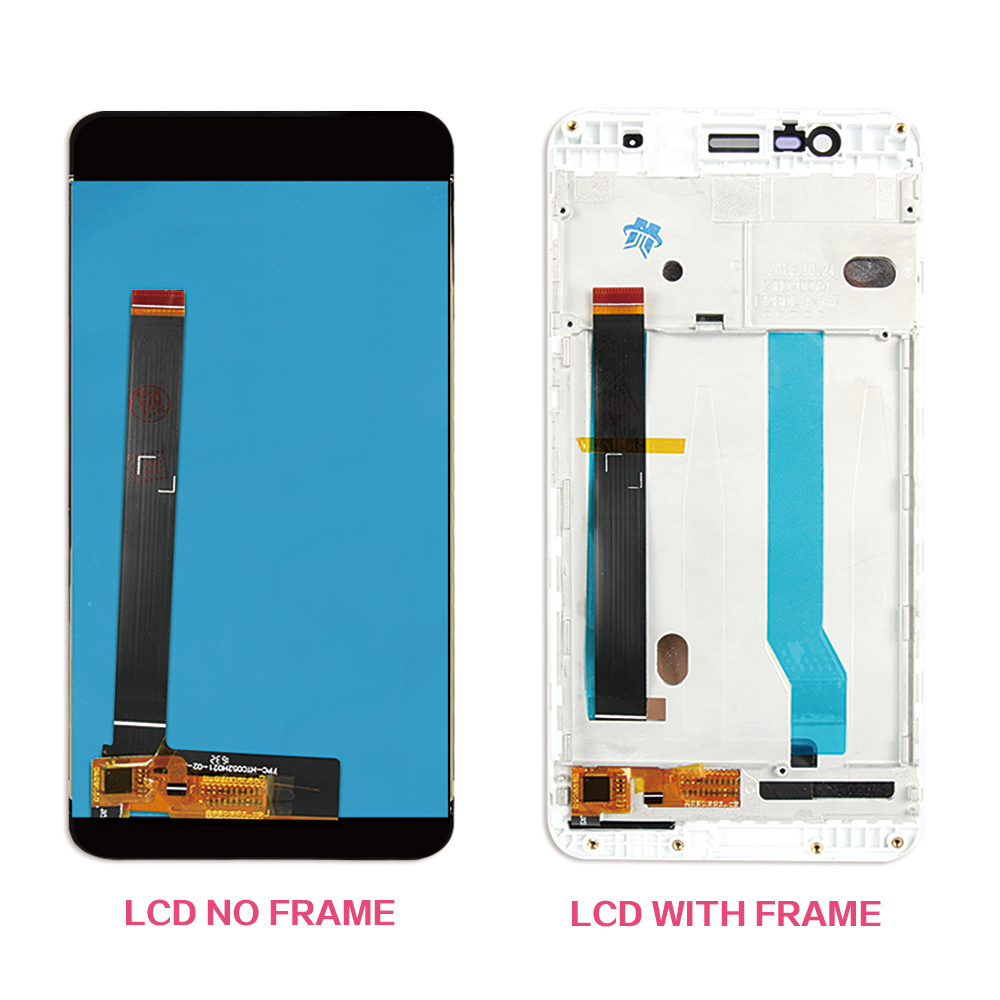 Tested 5.2'' 1920x1080 For Asus Zenfone 3 Max ZC520TL LCD Display Touch Screen with Frame Digitizer Assembly X008D
