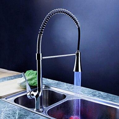Himylen haute qualité robinet à LED tiroir de cuisine-type bibcock de 000727
