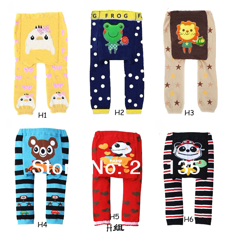 2017 new Cute Baby Boys Girls cotton PP pants Toddler warmer Trousers kids Children cartoon legging ultra elastic tights socks