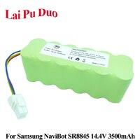 14.4V 3500mAh NI MH Vacuum Cleaner Rechargeable battery For Samsung NaviBot SR8840 SR8845 SR8895 SR8855 VCR8845 VCR8895