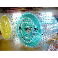 PVC Aqua Roller Ball On Sale,Colorful Inflatable Water Walking Ball,garden rolling ball fountain,inflatable zorbs water rollers