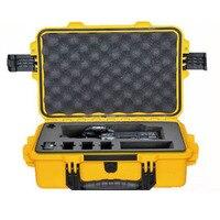 M2100 Tricase Fornecimento À Prova D' Água IP67 À Prova de Poeira Caso de Plástico Rígido com Espuma Pré-cortada