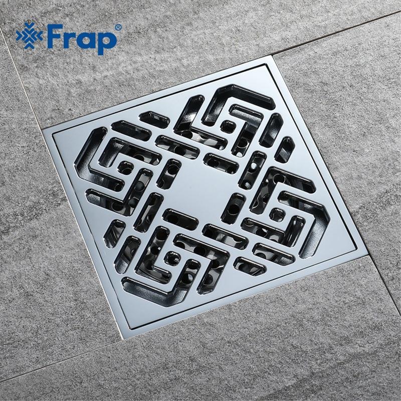 Frap Bathroom Floor Drain Square Bathroom Kitchen Floor Drain Cover ...