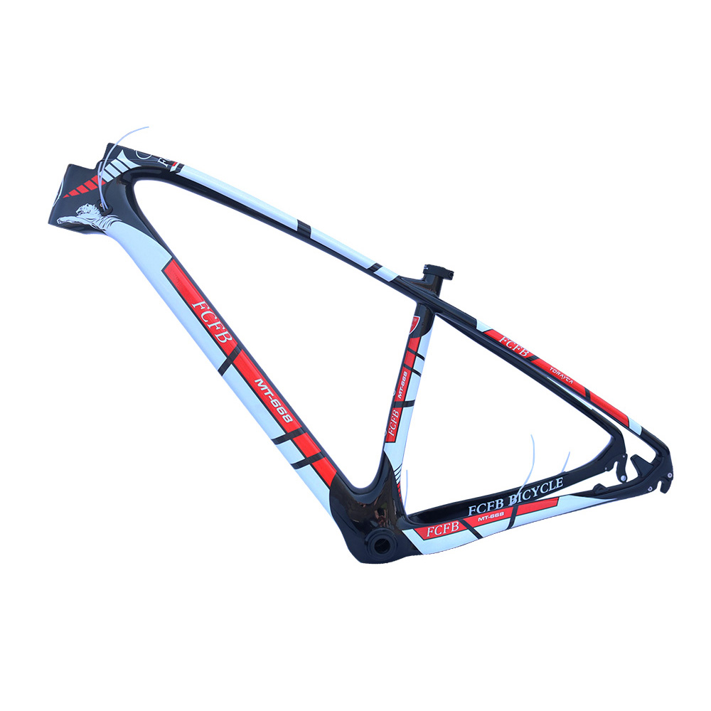 FCFB bicycle 29er carbon 3K frame Chinese MTB carbon frame 15/17inch carbon mountain bike frame disc carbon mtb frame BB30 2017 mtb bicycle 29er carbon frame chinese mtb carbon frame 29er 27 5er carbon mountain bike frame 650b disc carbon mtb frame 29