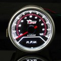 Universal de 2 Pulgadas 12 V 52 MM LED Rojo Display Car Tachometer Gauge Meter 0-10000 RPM