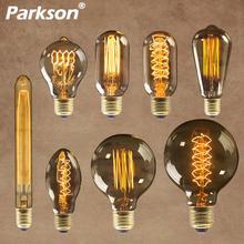 Эдисон лампы e27 220 В 40 Вт st64 t10 g80 g95 в стиле ретро ампулы винтажная лампа Эдисона лампа накаливания Светильник лампы для домашнего декора
