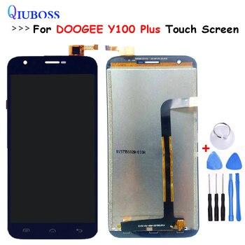 Per Doogee Valencia 2 Y100 Più Display LCD + Touch Screen 100% Testato Screen Digitizer Assembly di Ricambio Per Doogee Y100 più