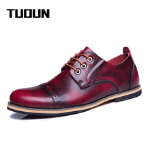 2016 Fashion Handmade100% Genuine Leather Men Boots, Original Brand Spring Autumn Leather Men Shoes, Cowhide Men Ankle Boots