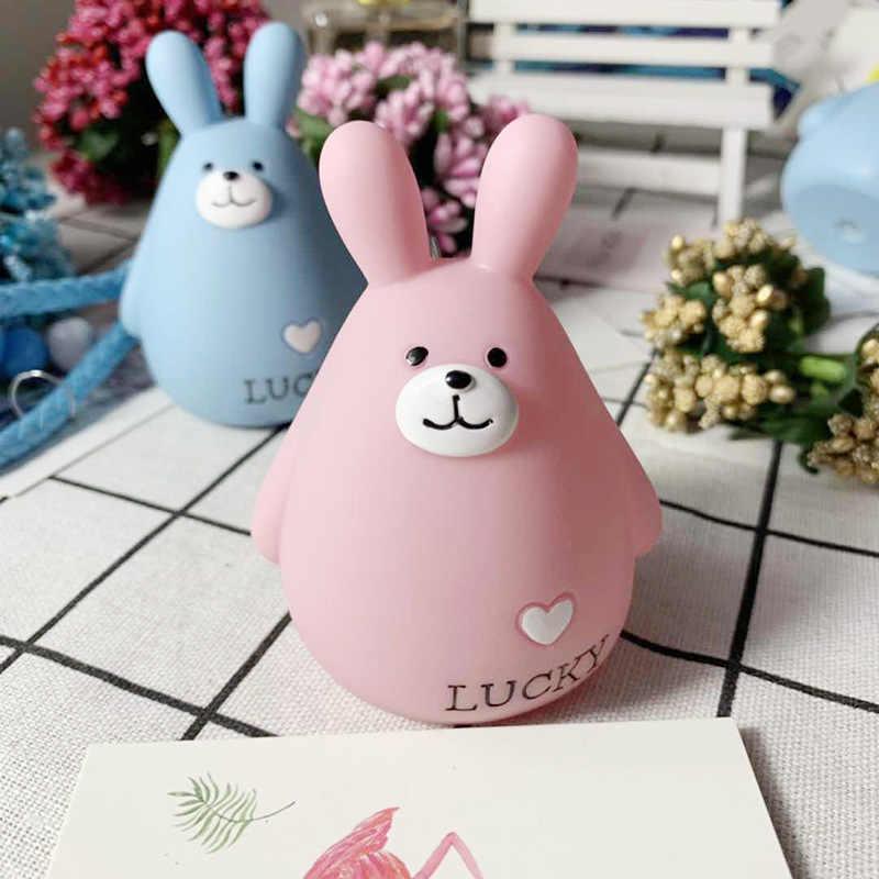 Bbay bonito Macio silicone bonito coelho grande Keychain/Keyring o presente para sua namorada, esposa ou filhos ea si mesmo