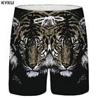 KYKU Tiger Shorts Me...