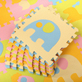 9 pcs/set Baby Carpet Gym Floor Play Mat 30*30cm EVA Foam Cartoon Animal Jigsaw Game Children's Rugs Puzzle Mat