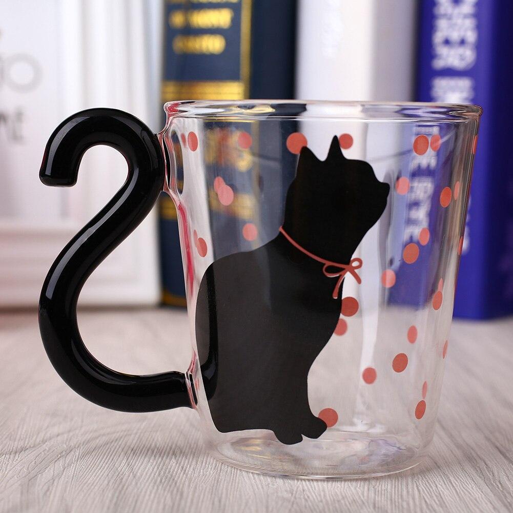 Creative Cat Designed Mugs