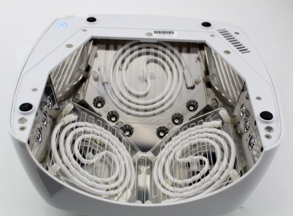 Free Shipping Genuine HD60 60W 110v-240v White CCFL LED Nail Lamp EU/US Plug with Timer, Sensor, Voltage Adapter цена и фото