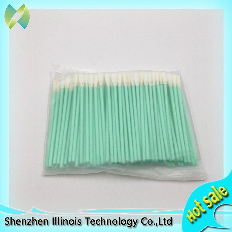 100pieces/pack Inkjet Printhead Cleaning Stick cleaning swabs Foam tip Format Printer Spare Parts factory