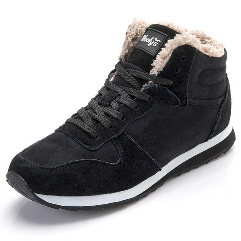 Frauen Stiefel Weibliche Winter Stiefel Plus Größe 35-46 Liebhaber Winter Schuhe Frauen Kausal Dicken Pelz Schnee Stiefel Winter ankle Botas Mujer