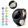 FLOVEME Марка Новый Smart Watch MTK6572 Многоязычная Bluetooth Синхронизации Notifier iOS Android Smartwatch Health Monitor GPS Wi-Fi ROM