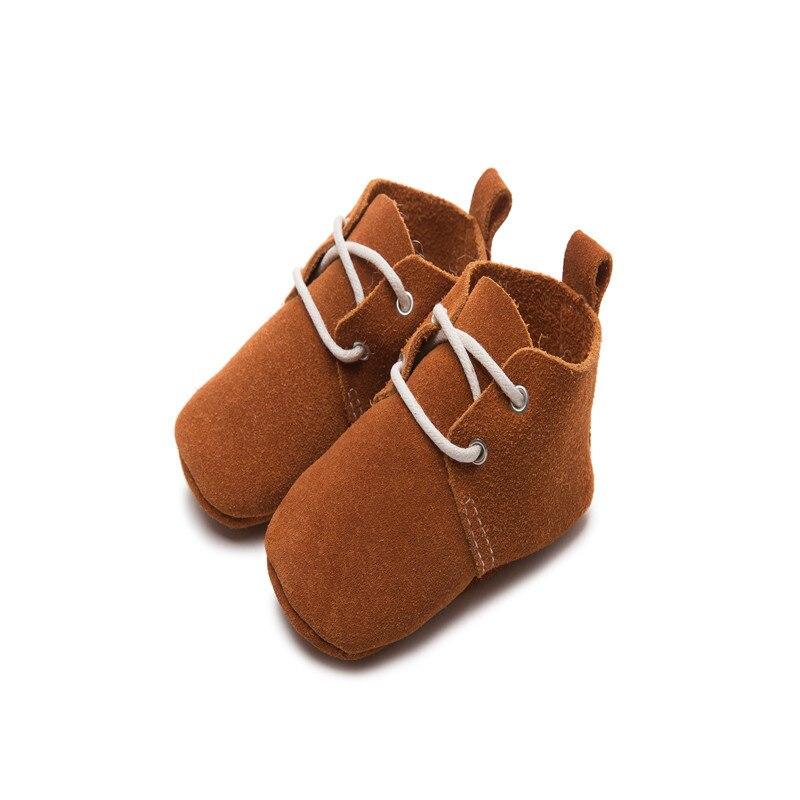 Γνήσια δερμάτινα κλασικά νεογέννητα - Υποδήματα για μικρά παιδιά - Φωτογραφία 3