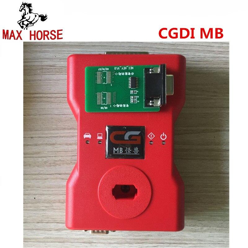 CGDI Prog MB для Benz автомобильный ключ Добавить самый быстрый для Benz ключ программист Поддержка всех ключей потерянный