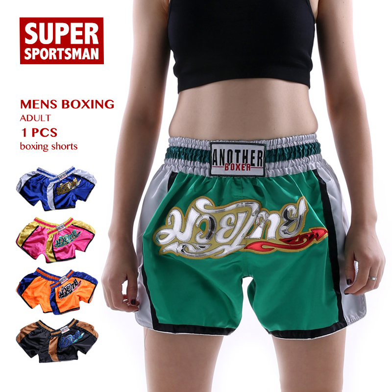 Bjj Muay Mujeres Niños Thai Lucha Pantalones Las Cortos De Boxeo Los Sanda Hombres Mma 7ygYf6b