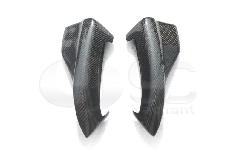 2008-2010 Subaru GRB STI Chargespeed Bottom Line Style Rear Bumper Spats Caps Corner Extension CF   (4)