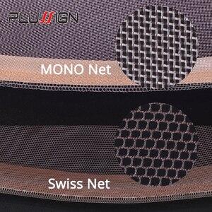Image 5 - Plussign swiss laço padrão net para fazer peruca toupee fechamento superior fundação acessórios de cabelo monofilamento estocagem peruca boné