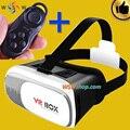 Vidros do Cinema 3D Óculos de Realidade Virtual Com Controlador Do Bluetooth Do Telefone Móvel 3D VR Óculos Para Vídeo de Vidro Gafas Oculos 3D